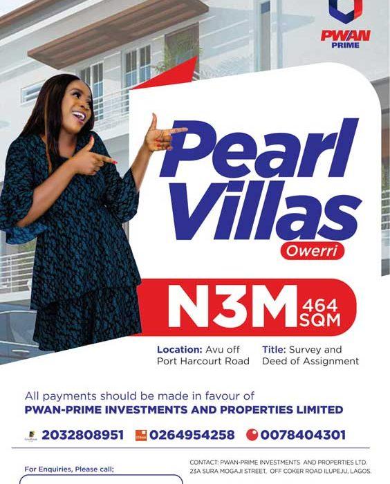 Pearl Villas, Owerri