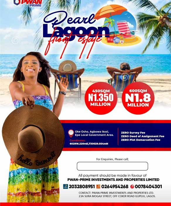 Pearl Lagoon Front, Epe